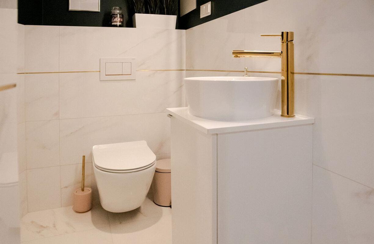 NS Nail studio łazienka