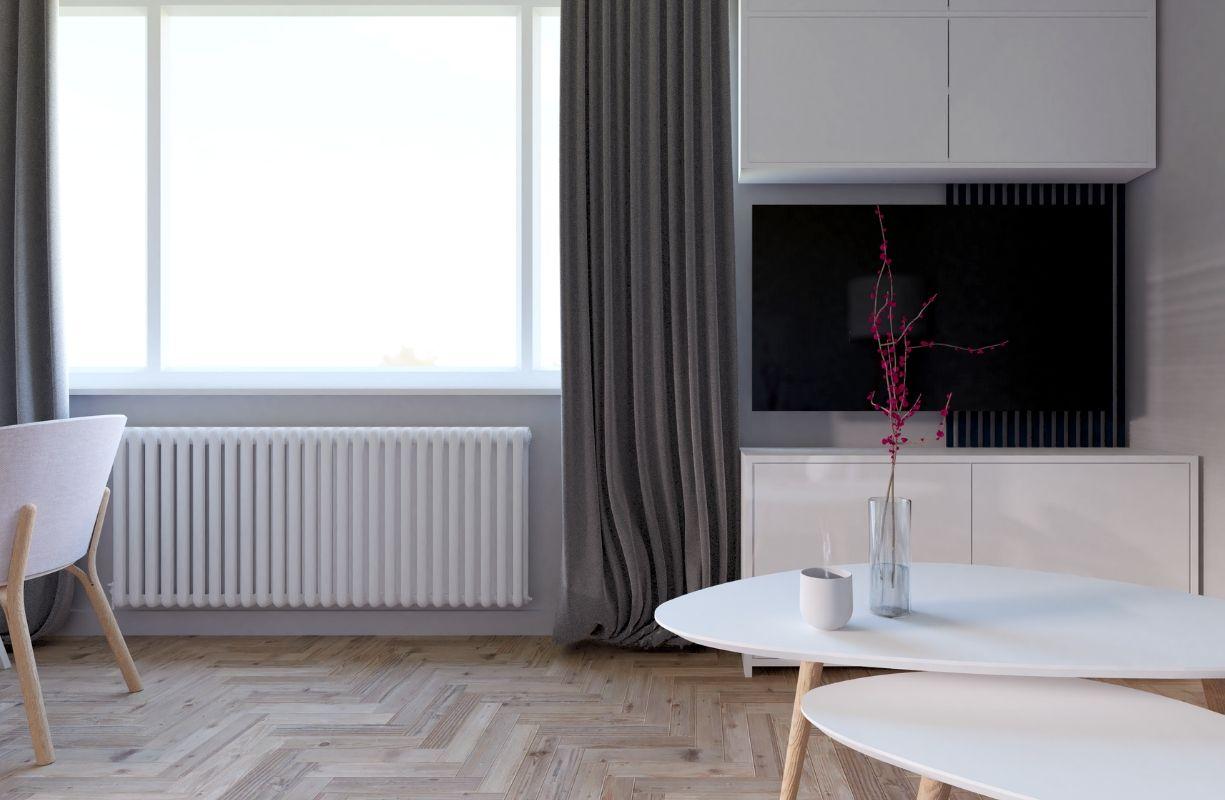 projekt salonu, mieszkanie mogilany